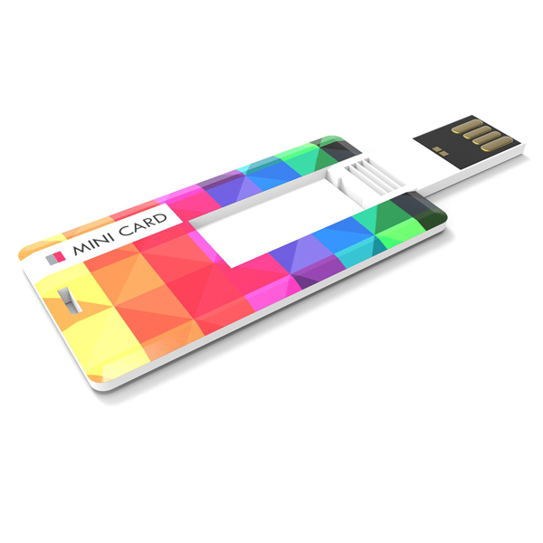 mini credit card usb stick bedrukken